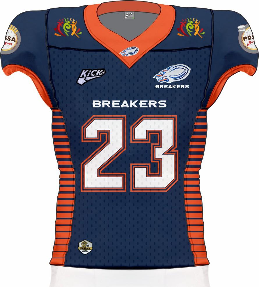 Camisa Of. Jaraguá Breakers Jersey Fem. JG1