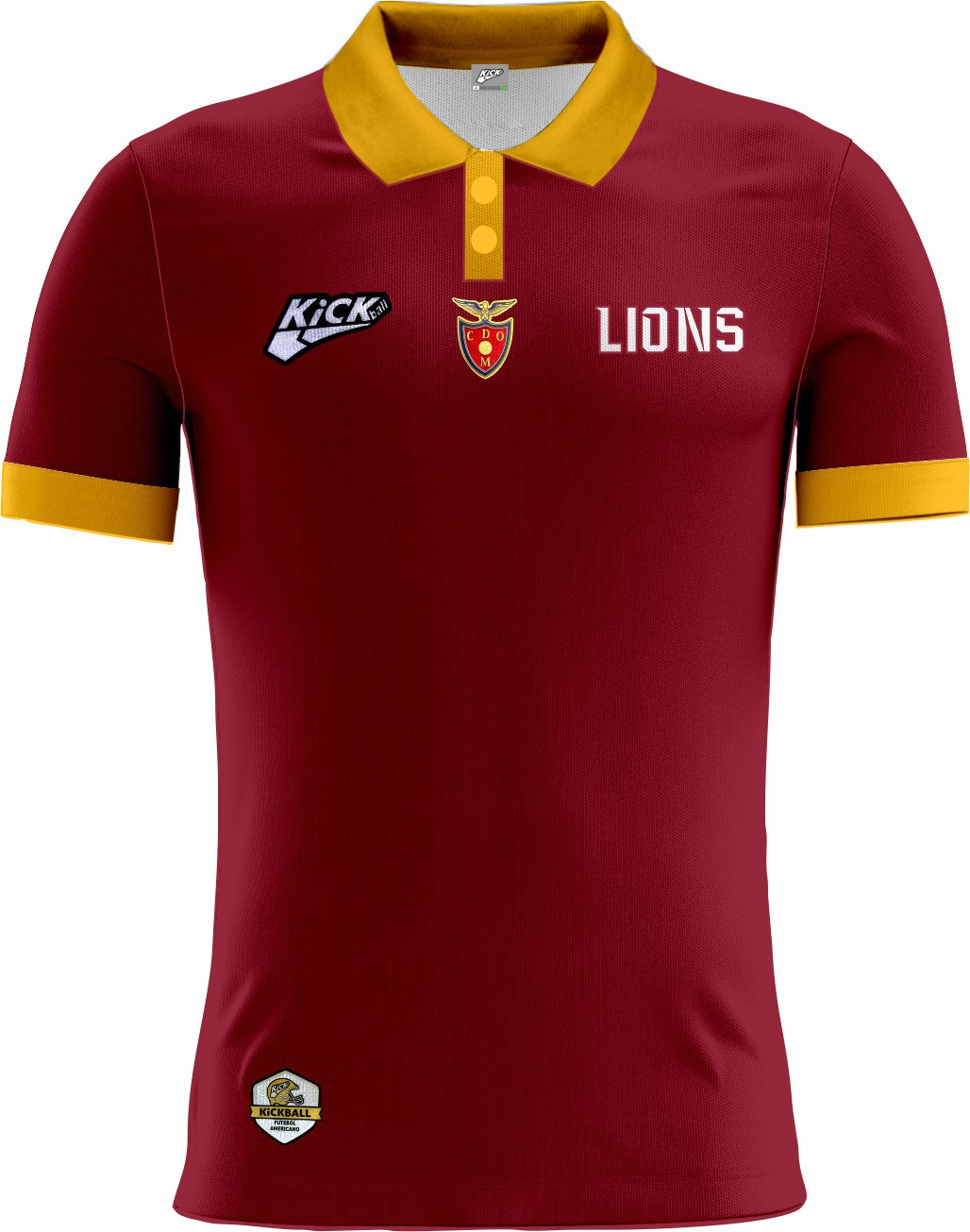Camisa Of. Lisboa Lions Tryout Polo Fem. Mod1