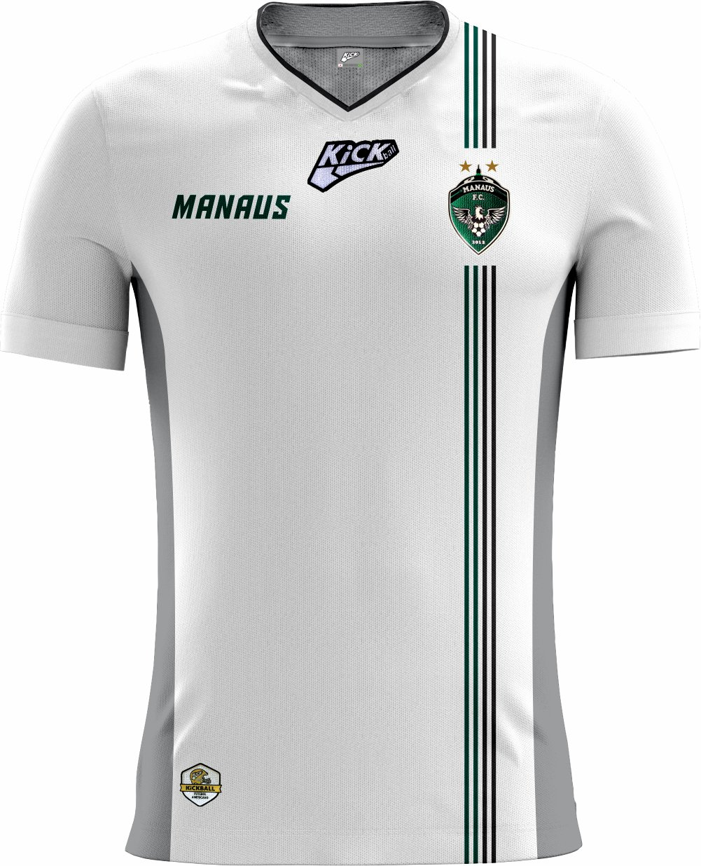 Camisa Of. Manaus F.A. Tryout Inf. Mod2