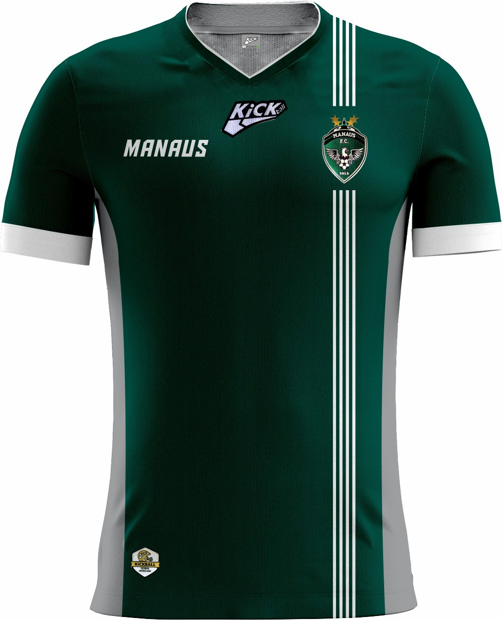 Camisa Of. Manaus F.A. Tryout Masc. Mod1