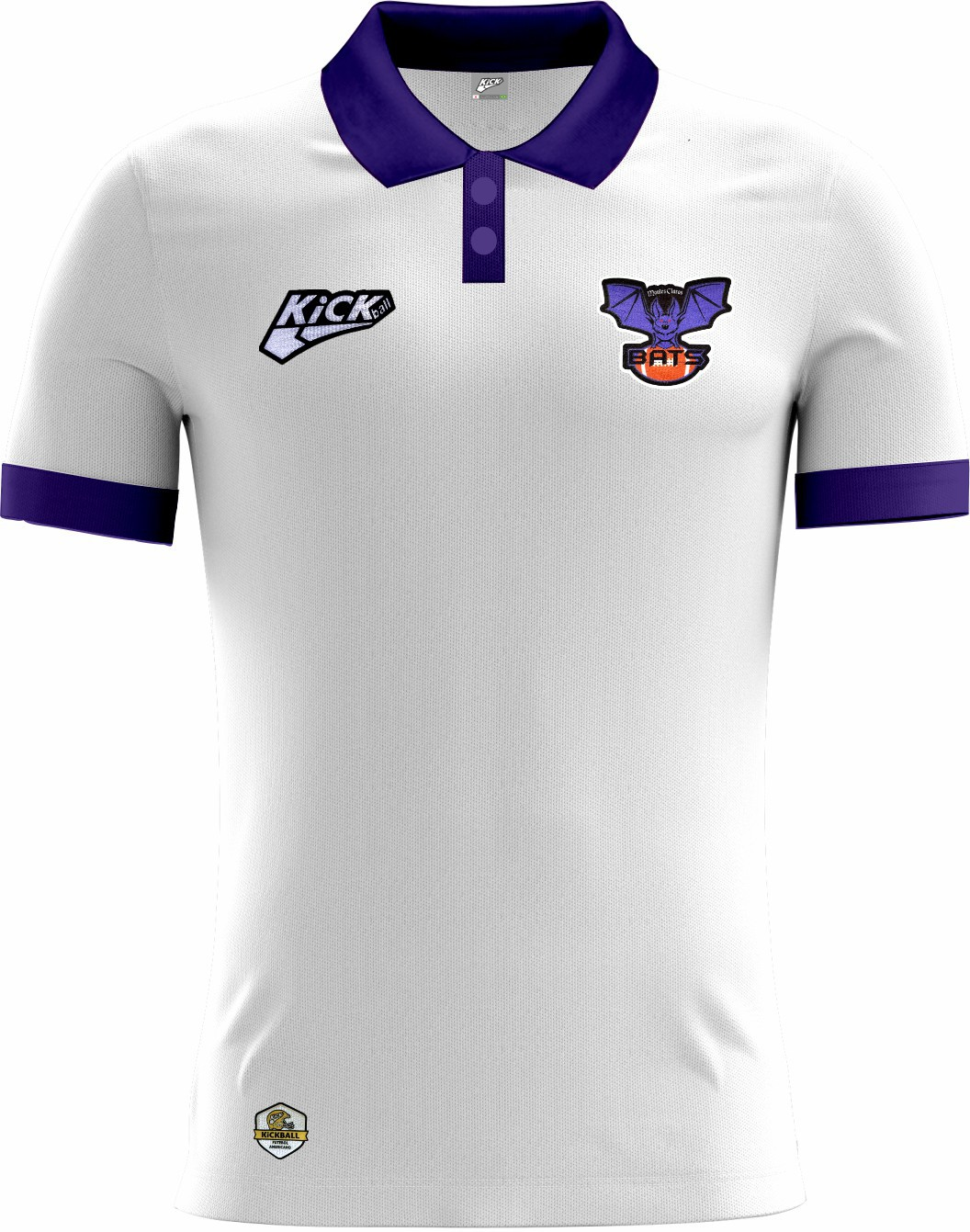 Camisa Of. Montes Claros Bats Tryout Polo Inf. Mod2