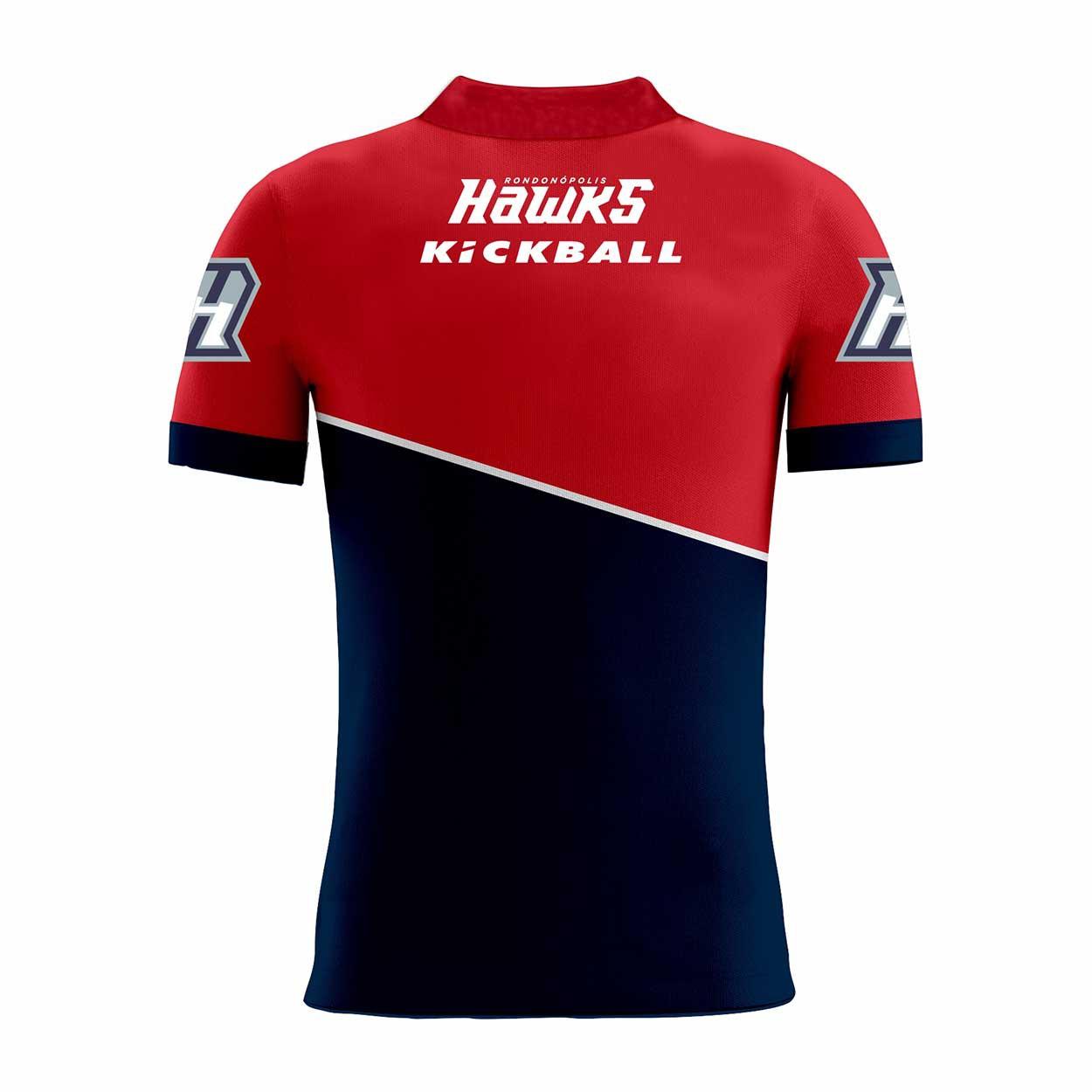 Camisa Of. Rondonópolis Hawks Tryout Polo Masc. Mod2