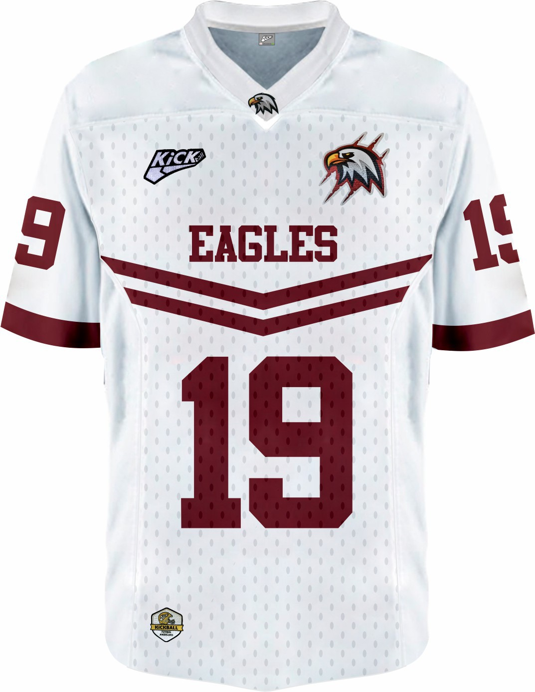 Camisa Of.  Santa Maria Eagles Jersey Plus Inf. Mod1