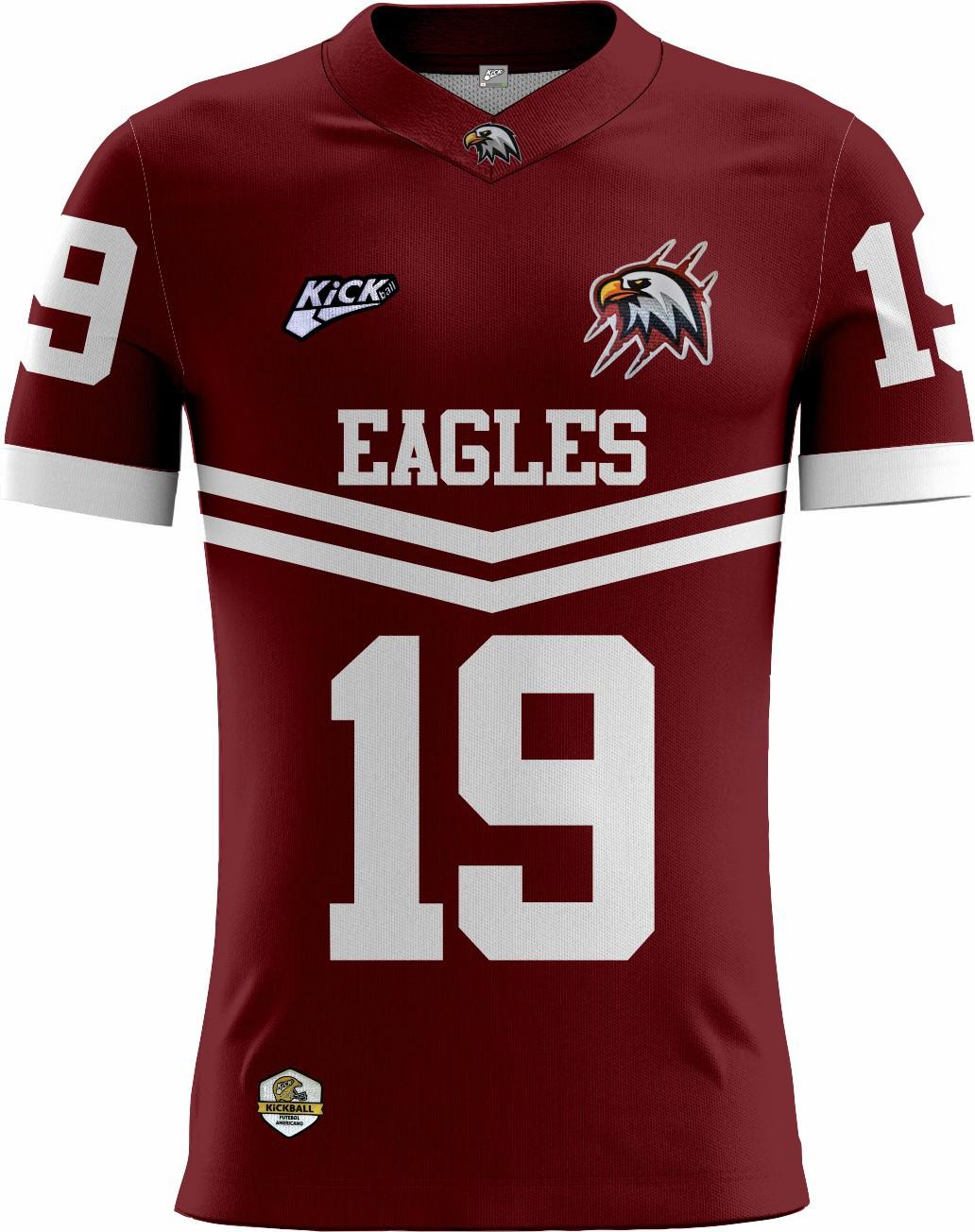 Camisa Of. Santa Maria Eagles Tryout Masc. Mod2