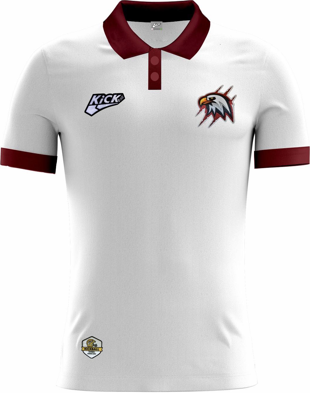 Camisa Of. Santa Maria Eagles Tryout Polo Masc. Mod1
