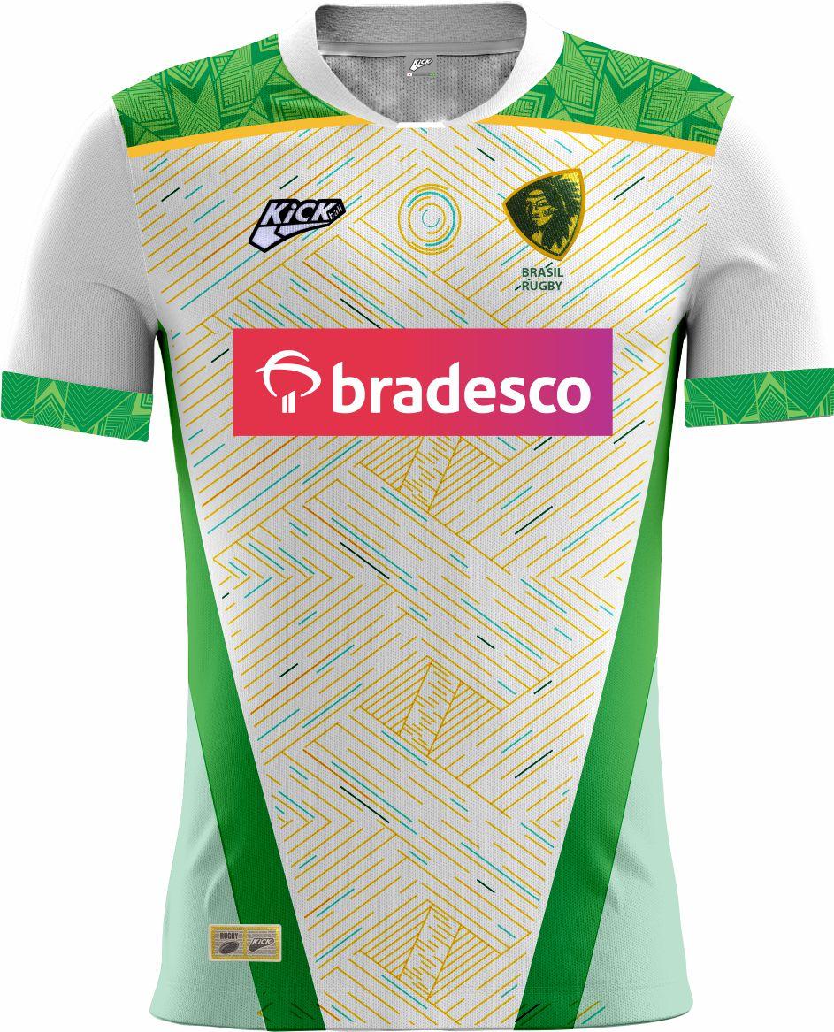 Camisa Of. Sel. Brasileira Rugby YARAS Jg.2 Fem.