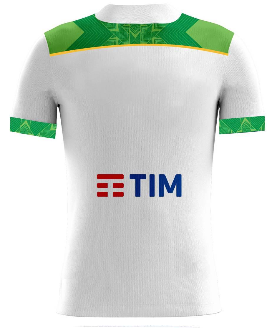 Camisa Of. Sel. Brasileira Rugby YARAS Jg.2 Masc.