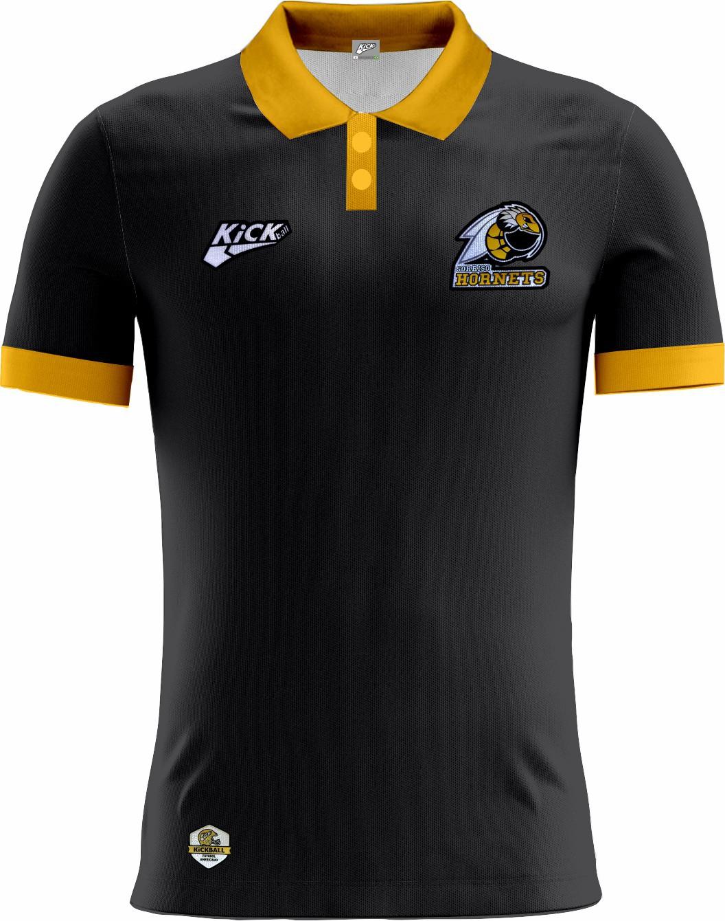 Camisa Of. Sorriso Hornets Tryout Polo Fem. Mod1