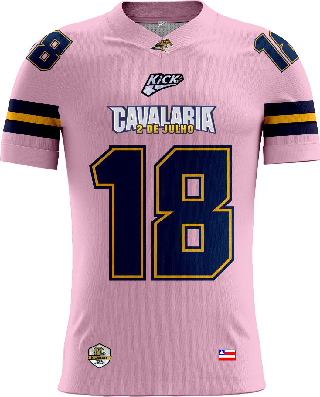 Camisa Of. Cavalaria  F.A. Tryout Fem. Outubro Rosa