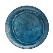 Prato Raso Melanina Jantar Mesa Posta Aqua Azul 27cm CÓDIGO 27791