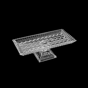 Centro de Mesa Travessa Wolff Cristal Grande 34x17x11 Original Pronta Entrega 35207