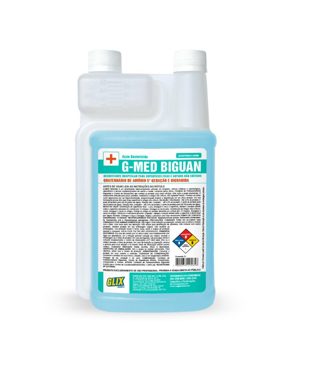 Desinfetante COVID19 Profissional 1 Litro - Para Uso Em Atomizador DHS-P