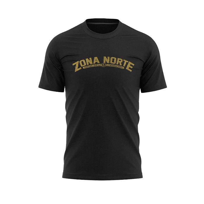 Camisa Preta da Zona Norte Poucas ideias