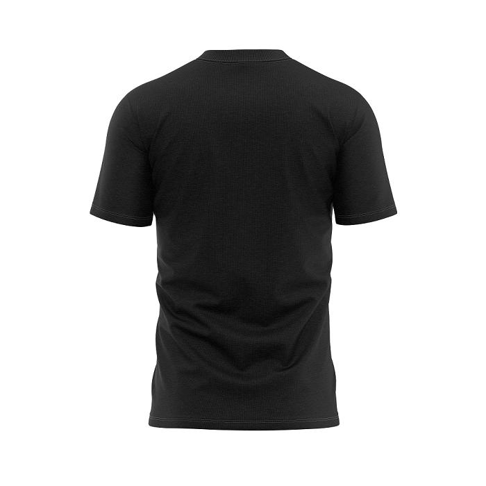 (PRE VENDA) Camisa Preta da Zona Norte Poucas ideias