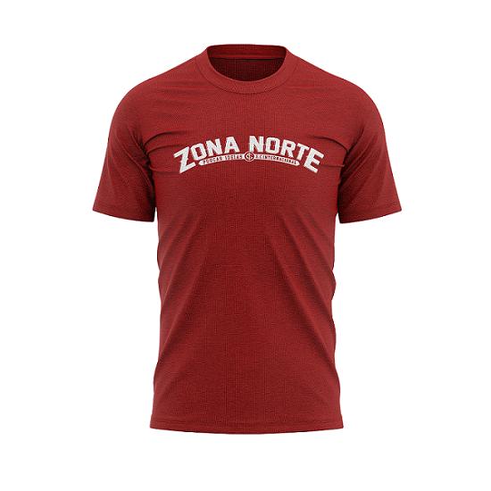 Camisa Vermelha da Zona Norte Poucas ideias