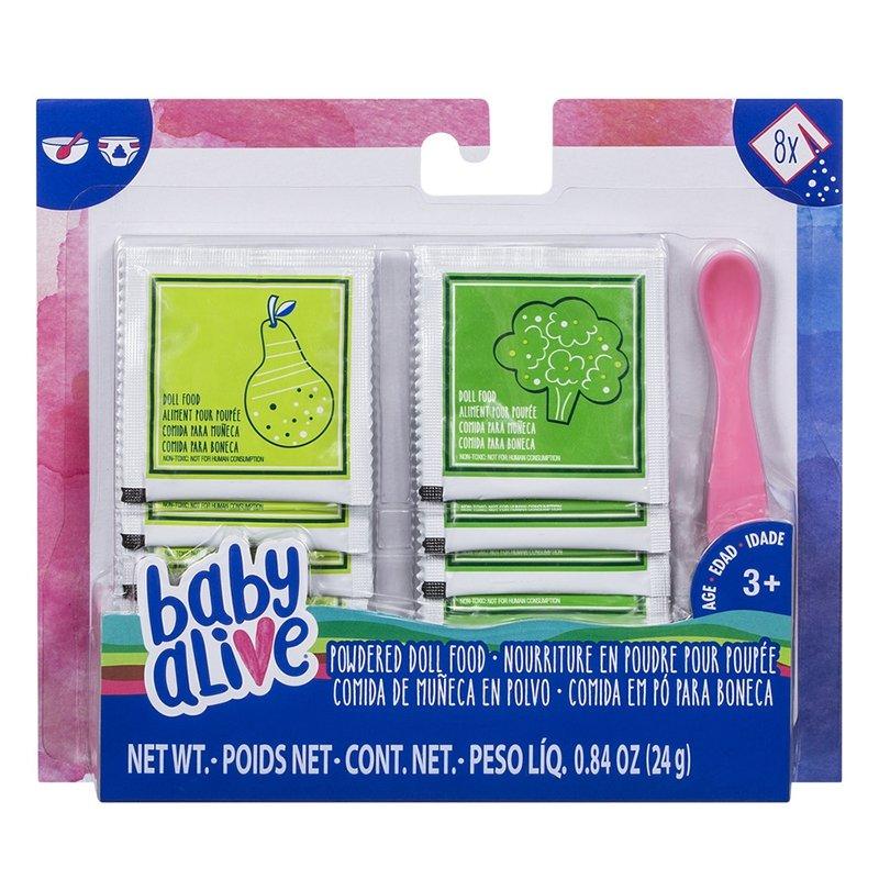 Comida em pó para bonecas - Baby Alive