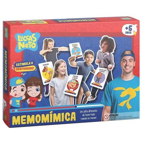 Jogo Memomímica - Lucas Neto