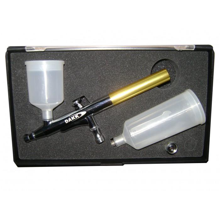 Aerógrafo K136  3 em 1 - fundos, verniz e desenhos  - Loja Silver Box