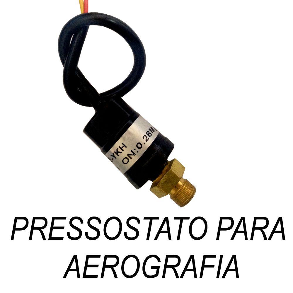 Pressostato para aerografia  - Loja Silver Box
