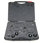 kit completo de compressor e maleta profissional de 6 aerógrafos e mangueira espiral  - Loja Silver Box