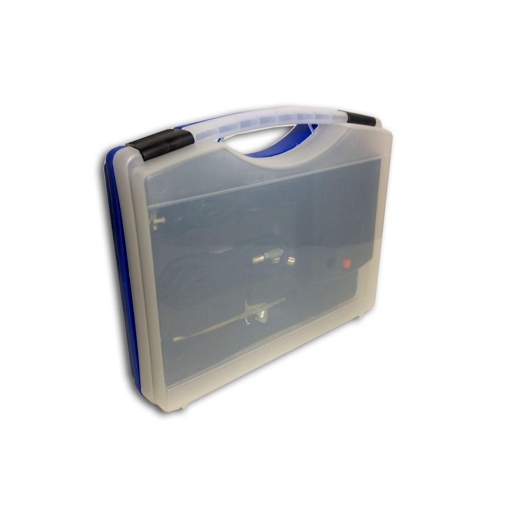 Estojo Pro - Aerógrafo Mangueira E Compressor Para Pinturas  - Loja Silver Box