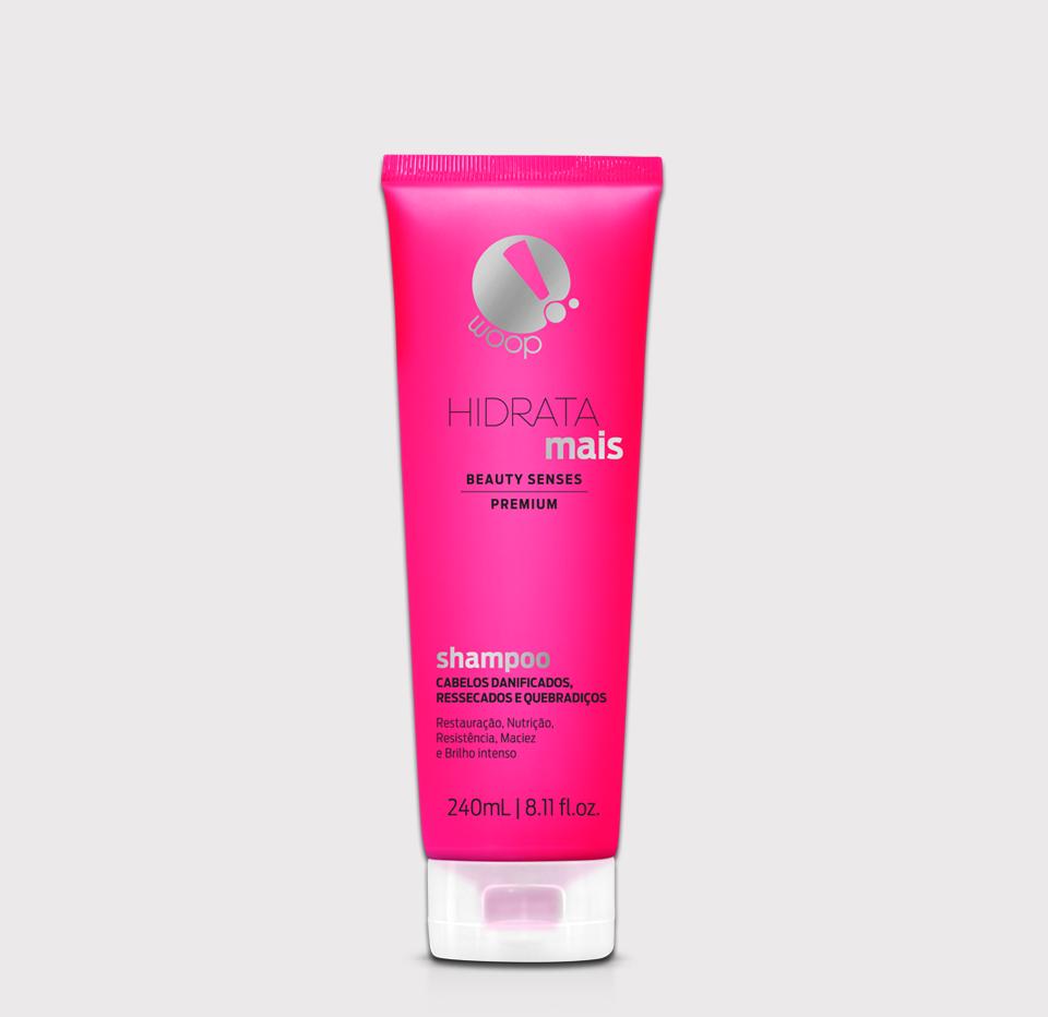 Shampoo Hidrata Mais - Beauty Senses - 240 mL