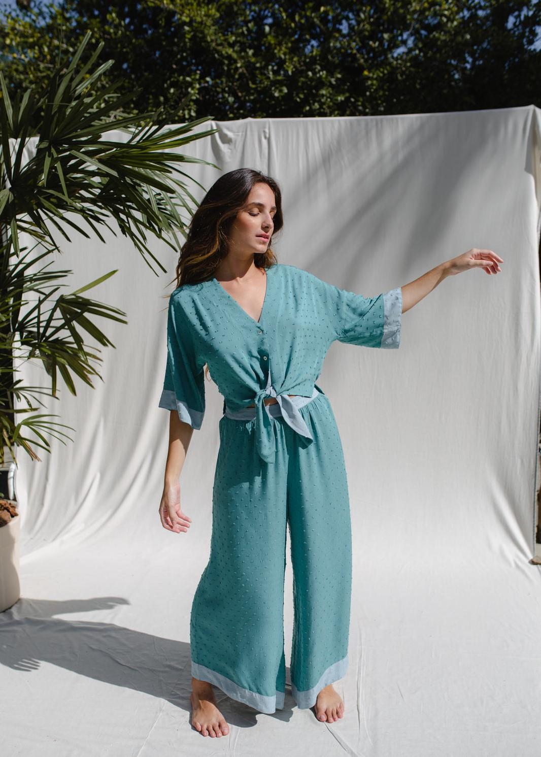Pijama Lenço