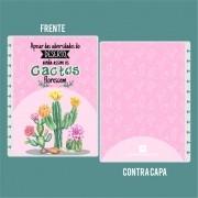 Capa de Caderno de Disco em Polaseal -  Apesar das adversidades do deserto, ainda assim os cactos florescem (07)