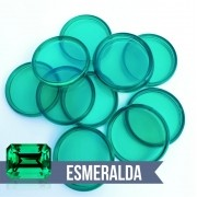 Disco de Caderno Translúcido Esmeralda Liso Amor Infinito