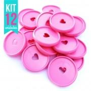 Kit Disco G 32mm de Caderno Infinito Sistema Inteligente - Coração