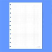 Refil de folha Universitário Para Cadernos de Disco Sistema Inteligente