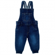 Jardineira Jeans Clube do Doce Jogger