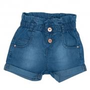 Shorts Jeans Clube do Doce Clochard Barra Virada
