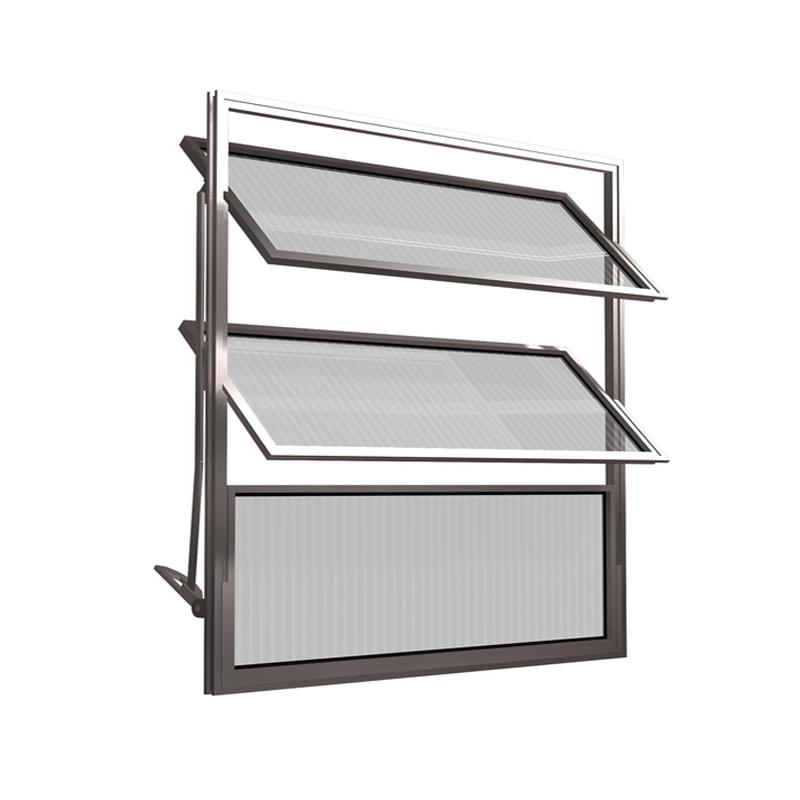 Basculante Alumínio Com 3 Folhas 60A x 60L 77 Clm