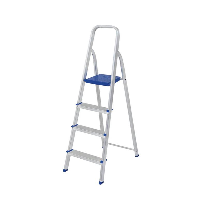 Escada De Alumínio Com 4 Degraus Mor