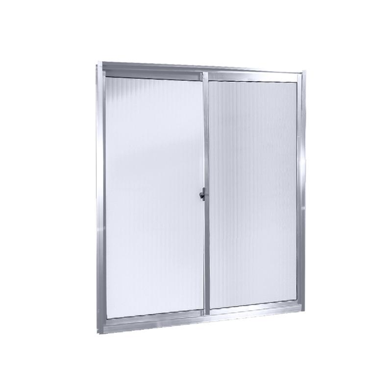 Janela Aluminio 2 folhas 1,00 x 1,00 Sem Grade 84 Clm
