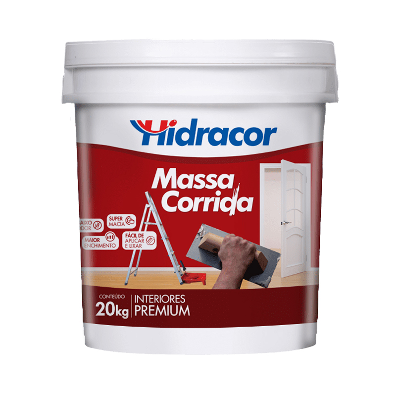 Massa Corrida 20Kg Hidracor