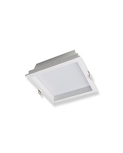 Plafon Embutir Led Quadrado 45W 6500K Qluz