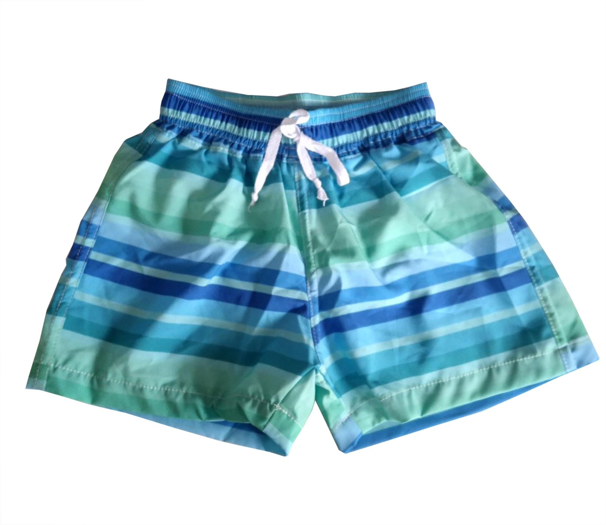 Bermuda Resort Infantil Green Stripes