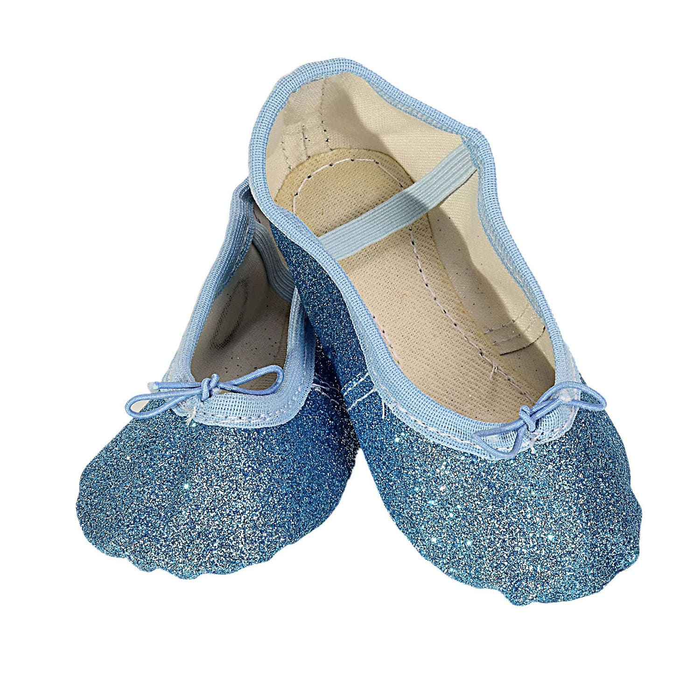 Sapatilha Glitter Azul Claro