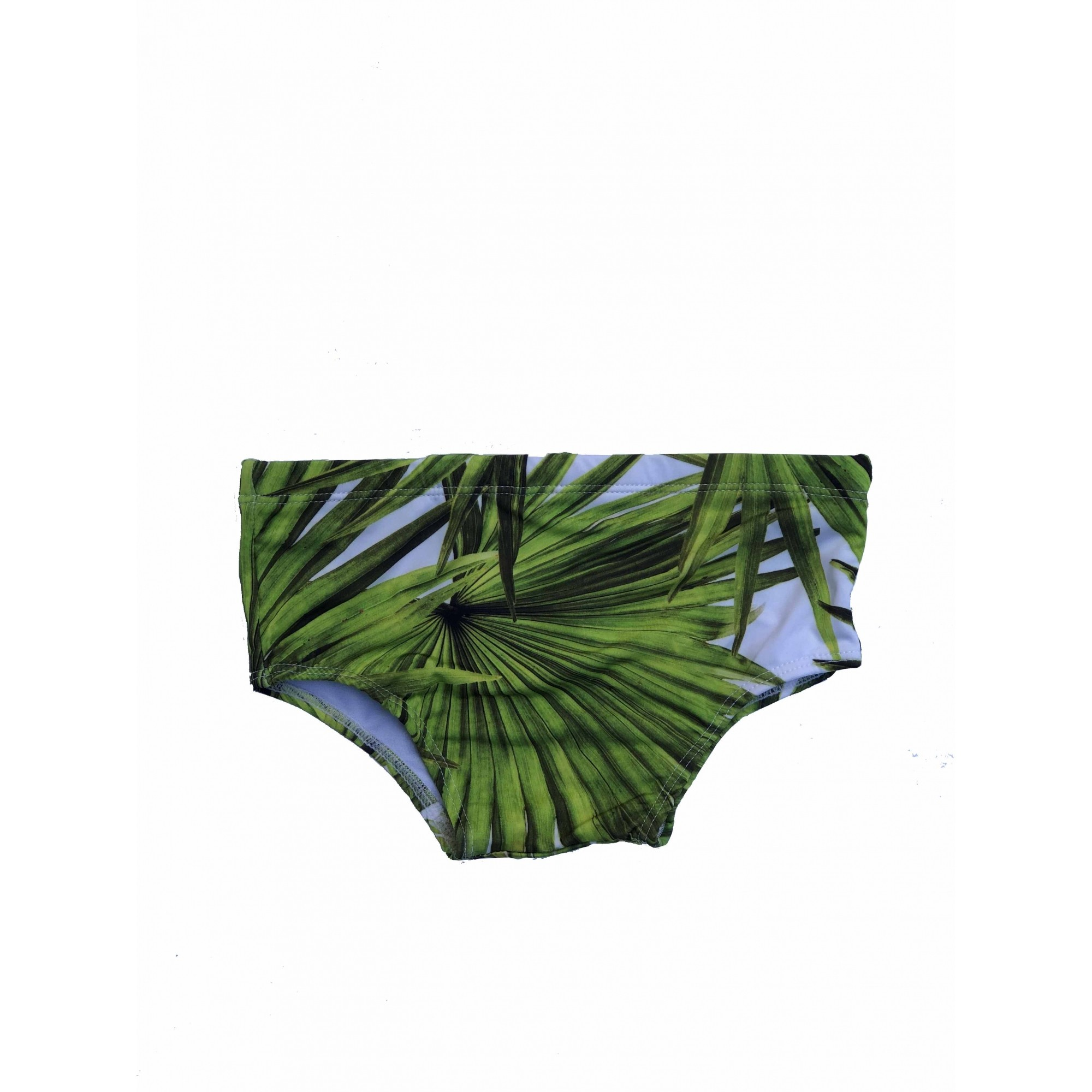 Sunga Larga Palmeira Verde