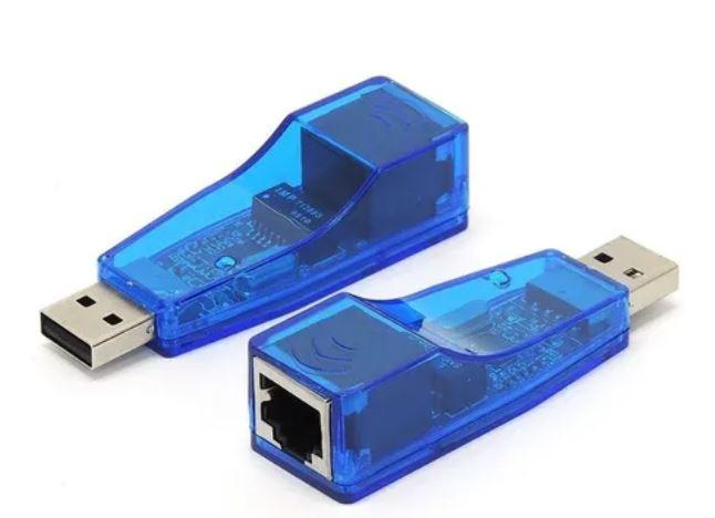 Placa de Rede USB Externa Rj45 Ethernet 10/100
