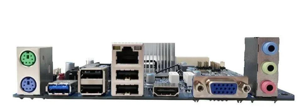 Placa Mae Pcware Mini ITX IPX1800G2 C/ INTEL Celeron DUAL-CORE
