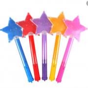 Bastão led estrela neon