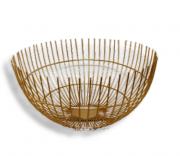 Centro de mesa em metal - 15 cm