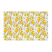 Lugar americano pvc  lemons color - 44 cm