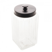 Pote de vidro sodo cacico c/ tampa - 2,3l