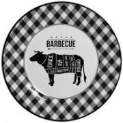 Prato raso Barbecue Plus