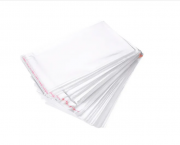 Saco Adesivado Plástico C/ Aba 7,5x10 C/100 Un