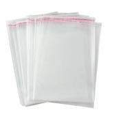Saco Plásticos Transparente 20x30  C/fecho